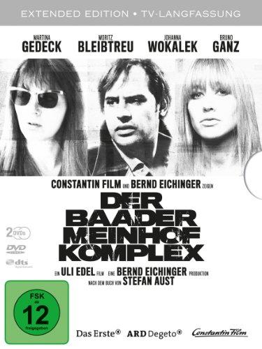 Der Baader Meinhof Komplex TV-Langfassung, 2 DVDs