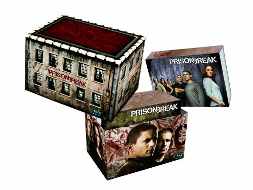 Prison Break Complete Box (23-Blue-Ray Discs) incl. Final Break [Blu-ray]