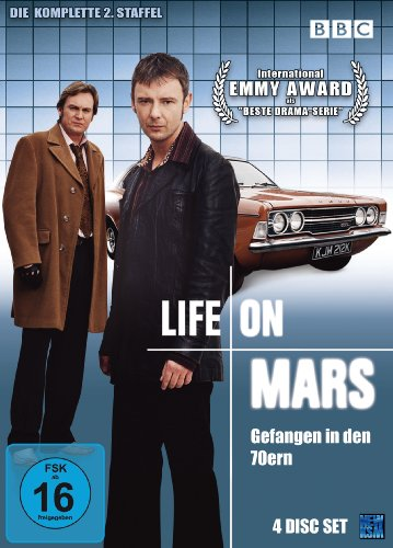 Life On Mars - Gefangen in den 70ern Season 2 (4 DVDs)