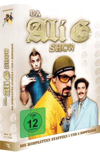 Da Ali G Show Doppelbox Staffel 1 und 2 (4 DVDs)