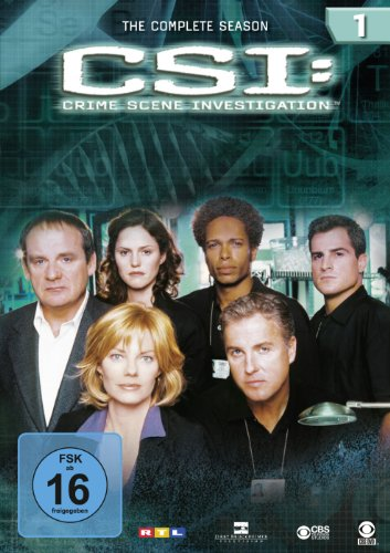 CSI Season  1 (6 DVDs)