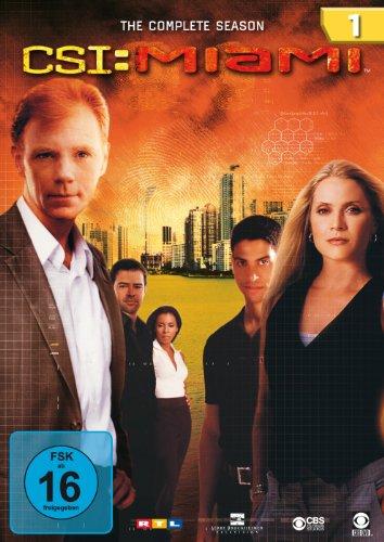 CSI: Miami Season  1 (6 DVDs)
