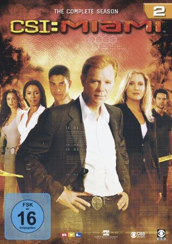 CSI: Miami Season  2 (6 DVDs)