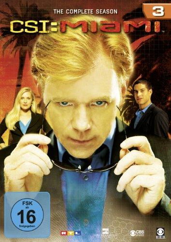 CSI: Miami Season  3 (6 DVDs)