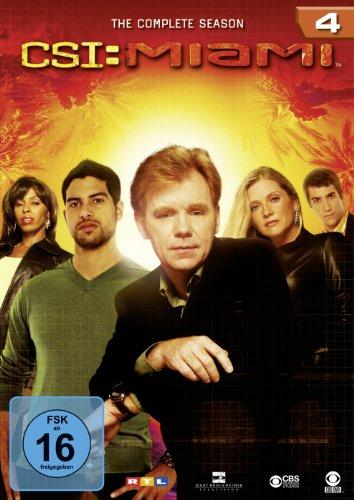 CSI: Miami Season  4 (6 DVDs)