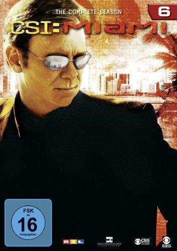 CSI: Miami Season  6 (6 DVDs)