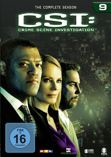 CSI Season  9 (6 DVDs)