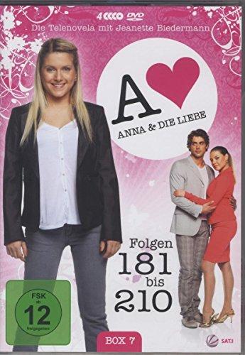 Anna und die Liebe Box  7, Folgen 181-210 (4 DVDs)