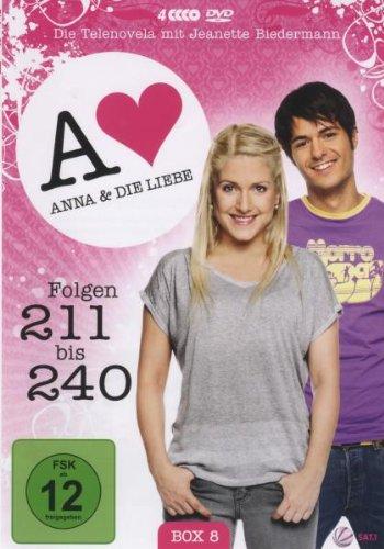 Anna und die Liebe Box  8, Folgen 211-240 (4 DVDs)