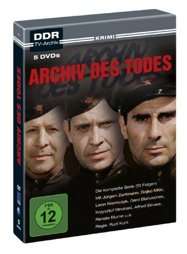 Archiv des Todes (DDR TV-Archiv) (5 DVDs)