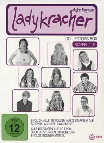 Ladykracher Box, Staffel 1-5 (10 DVDs)