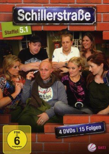 Schillerstraße Staffel 5, Teil 1 (4 DVDs)