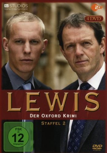 Lewis - Der Oxford Krimi Staffel 2 (4 DVDs)