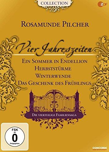 Rosamunde Pilcher: Vier Jahreszeiten, Teil 1-4 (4 DVDs)