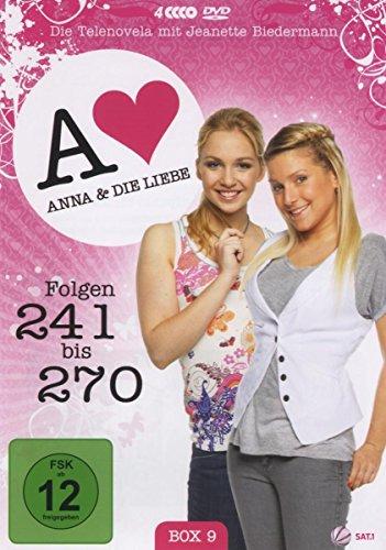Anna und die Liebe Box  9, Folgen 241-270 (4 DVDs)