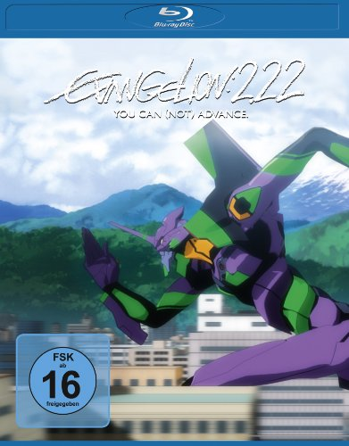 Evangelion: 2.22 - You Can (Not) Advance. Blu-ray