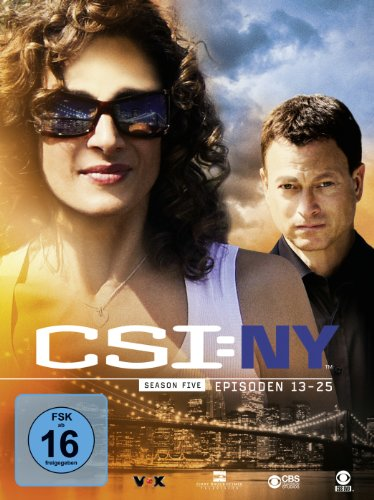 CSI: NY Season 5.2 (3 DVDs)