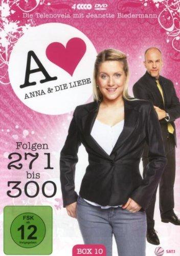 Anna und die Liebe Box 10, Folgen 271-300 (4 DVDs)