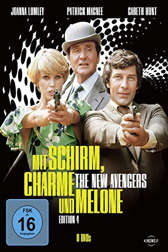 Mit Schirm, Charme und Melone Edition 4: The New Avengers (8 DVDs)
