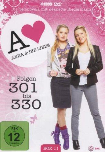 Anna und die Liebe Box 11, Folgen 301-330 (4 DVDs)