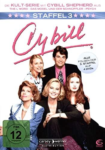 Cybill Staffel 3 (4 DVDs)
