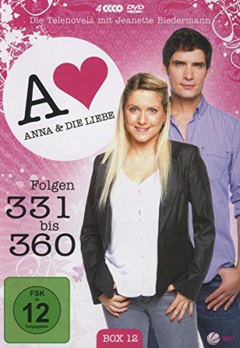 Anna und die Liebe Box 12, Folgen 331-360 (4 DVDs)