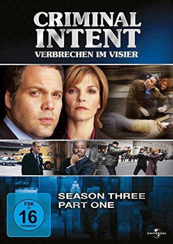 Criminal Intent - Verbrechen im Visier, Staffel 3/Teil 1 (3 DVDs)