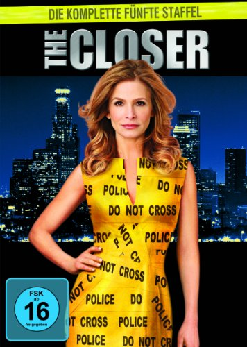 The Closer Staffel 5 (4 DVDs)