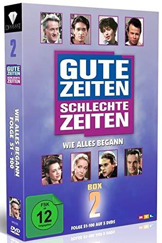 Gute Zeiten, schlechte Zeiten Wie alles begann - Box 2, Folgen 51-100 (5 DVDs)