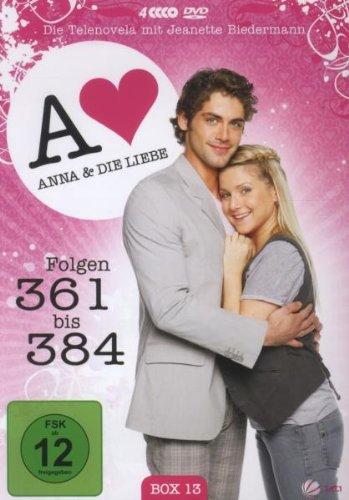Anna und die Liebe Box 13, Folgen 361-384 (4 DVDs)