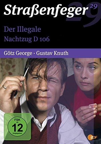 Straßenfeger 29: Der Illegale/Nachtzug D 106 (4 DVDs)