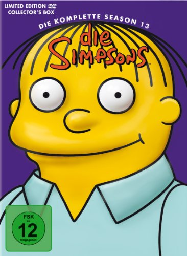 Die Simpsons Season 13 (Kopf-Tiefzieh-Box, Collector's Edition, 4 DVDs)