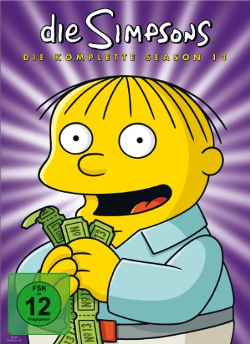 Die Simpsons Season 13 (Collector's Edition, 4 DVDs)