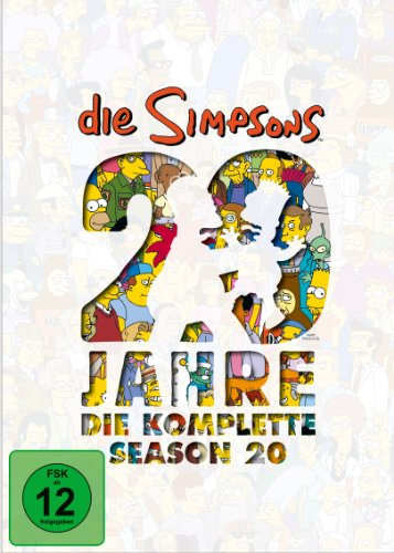 Die Simpsons Season 20: 20 Jahre Simpsons (4 DVDs)