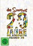 Die Simpsons - Season 20: 20 Jahre Simpsons (4 DVDs)