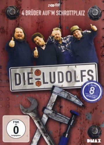 Die Ludolfs - 4 Brüder auf'm Schrottplatz, Staffel 8 (2 DVDs)