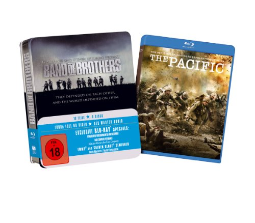 """Band Of Brothers (Tin-Box, inkl. erster Folge von """"The Pacific"""" exklusiv bei Amazon.de) [Blu-ray] Tin-Box, inkl. erster Folge von """"The Pacific"""" exklusiv bei Amazon.de [Blu-ray]"""