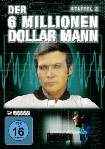 Der Sechs-Millionen-Dollar-Mann Staffel 2 (5 DVDs)
