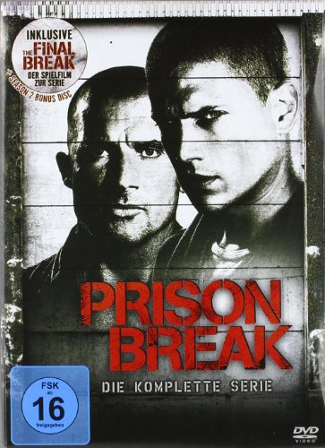 Prison Break Complete Box (24 DVDs)