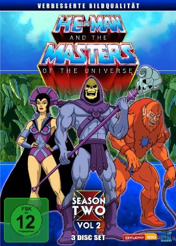 He-Man and the Masters of the Universe Season 2, Volume 2 (3 DVDs)