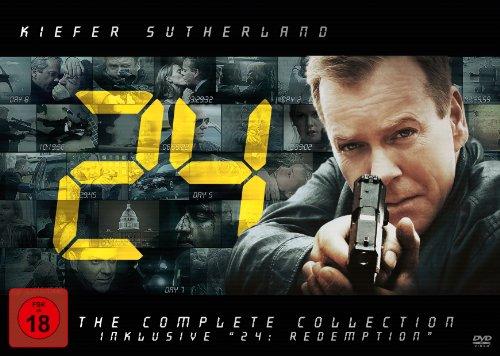 24 Die komplette Serie & Redemption (55 DVDs)