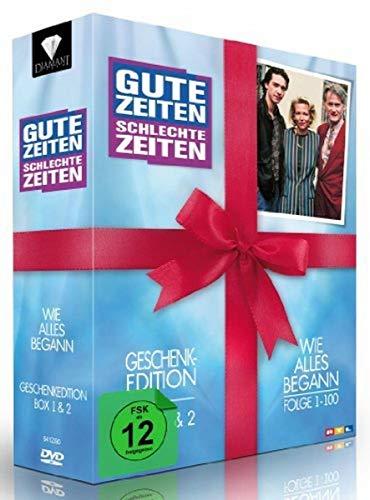 Gute Zeiten, schlechte Zeiten Wie alles begann - Box 1+2, Folgen 1-100 (Geschenk-Edition) (10 DVDs)