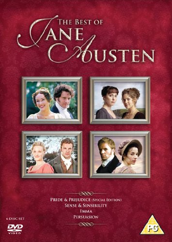 The Best of Jane Austen Box Set: Pride & Prejudice / Sense & Sensibility / Emma / Persuasion (6 DVDs)