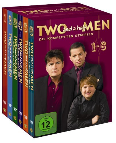 Two and a Half Men Staffeln 1-6 Superbox