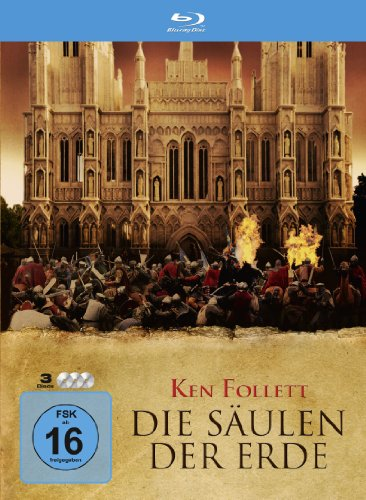 Die Säulen der Erde (Steelbox) [Blu-ray] Steelbox [Blu-ray]