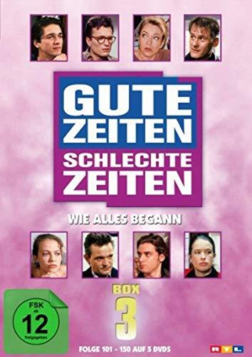 Gute Zeiten, schlechte Zeiten Wie alles begann - Box 3, Folgen 101-150 (5 DVDs)