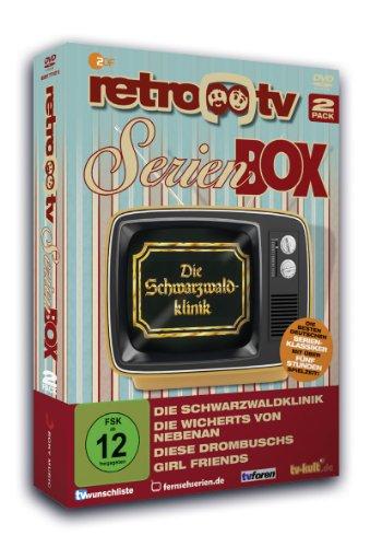 retro-tv Serien Box (Wicherts/ Drombuschs/ Schwarzwaldklinik/girl friends) (2 DVDs)