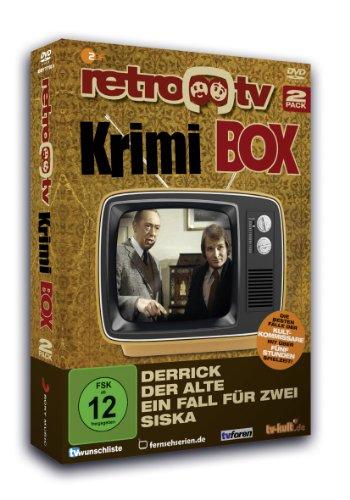 retro-tv Krimi Box (Derrick/Der Alte/Ein Fall für zwei/Siska)