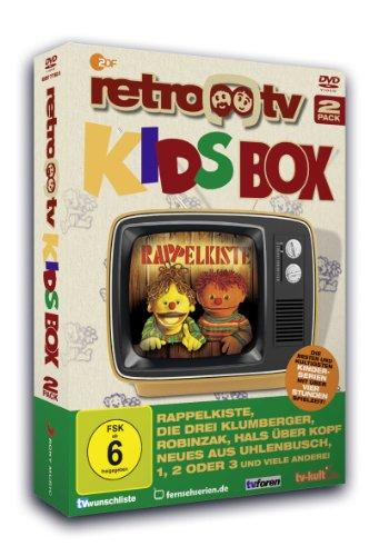 "retro-tv - Kids Box (u.a. eine Folge ""Babbelgamm"") (2 DVDs)"