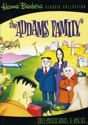 The Addams Family The Complete Series (4 DVDs)